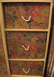 another diaper box triumph – Upcycled Drawers