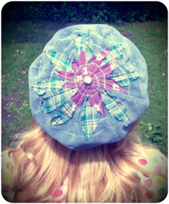 The Patchwork Rainy Day Cap