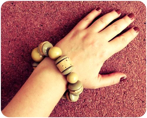 it doesn't get any easier than this: an instant upcycled bracelet diy
