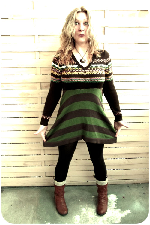 refashioned sweater simplicity: part four