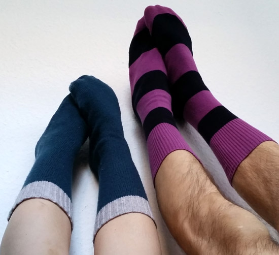 That Cheap (DIY) B*tch: DIY Sweater Socks