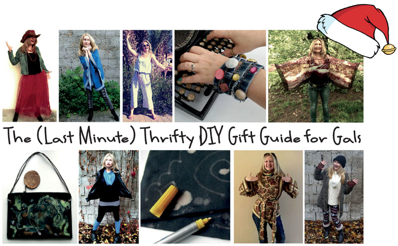 The (Last Minute) Thrifty DIY Gift Guide for Gals