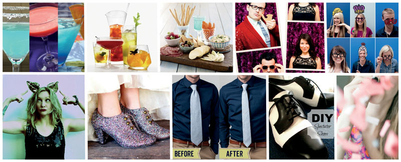 That Cheap (DIY) B*tch: DIYs for your New Year's Eve Party