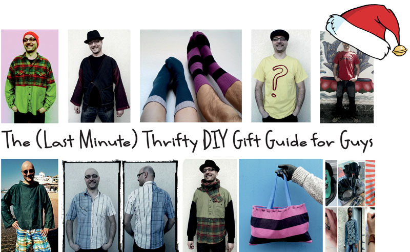 The (Last Minute) Thrifty DIY Gift Guide for Guys