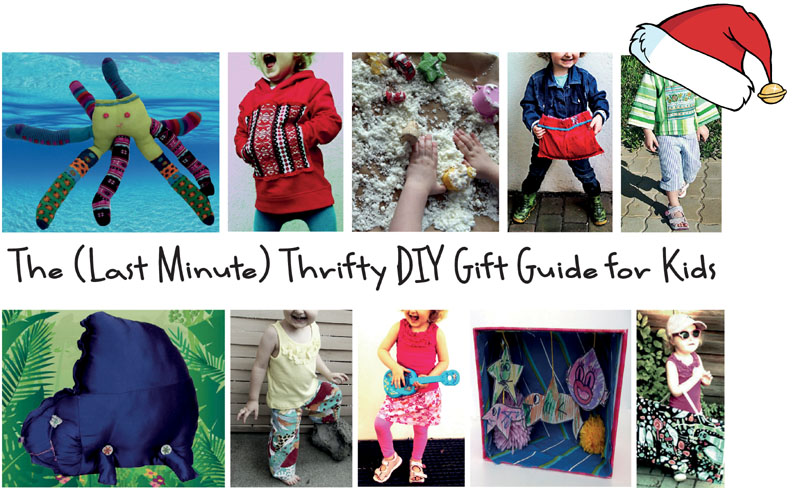 The (Last Minute) Thrifty DIY Gift Guide for Kids
