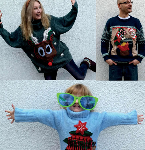 My DIY (not so ugly) Christmas Sweaters