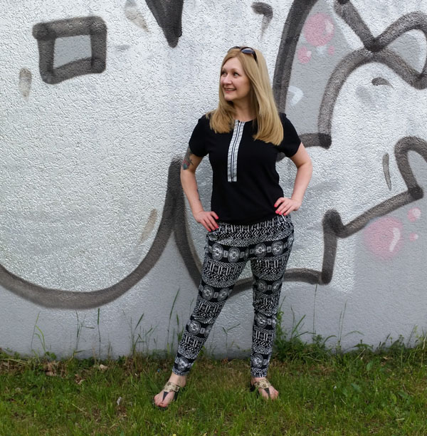 A Quick Refashioned Jumpsuit Upsize