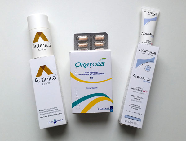 Rosacea treatment medication & cream