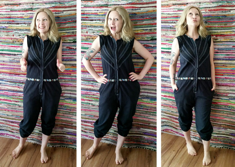 Refashioned Jumpsuit after