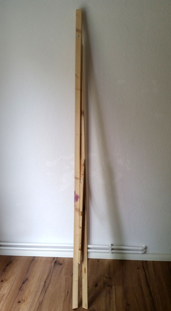 diy adjustable easel