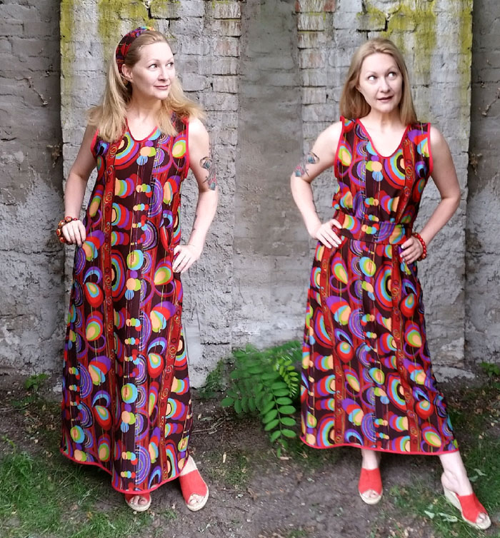 easy diy maxidress tutorial