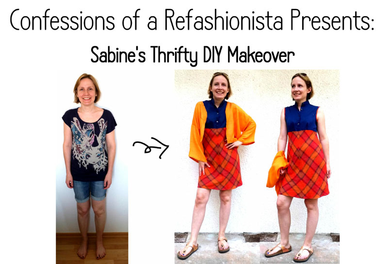 Sabine's Thrifty Refashionista DIY Makeover