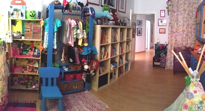 Thrifty Upcycled Kids Room