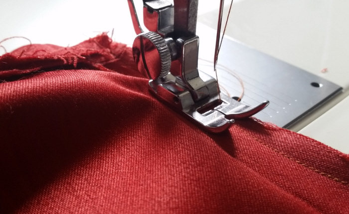 how to upsize a dress tutorial