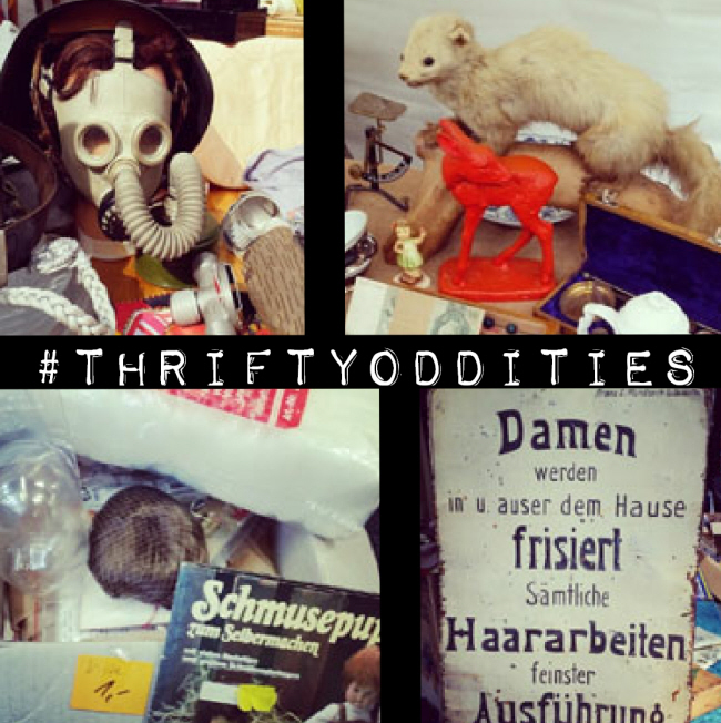 Show me your thrifty oddities