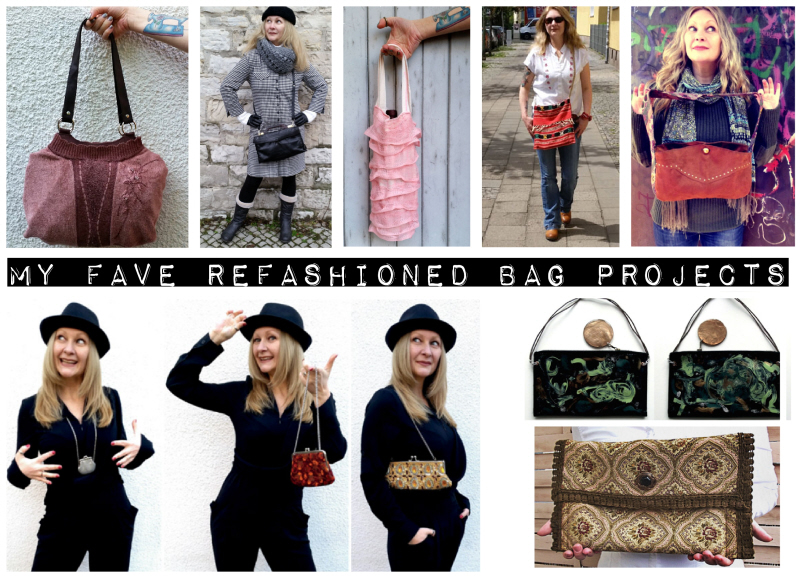 November Refashion Challenge: DIY Bags