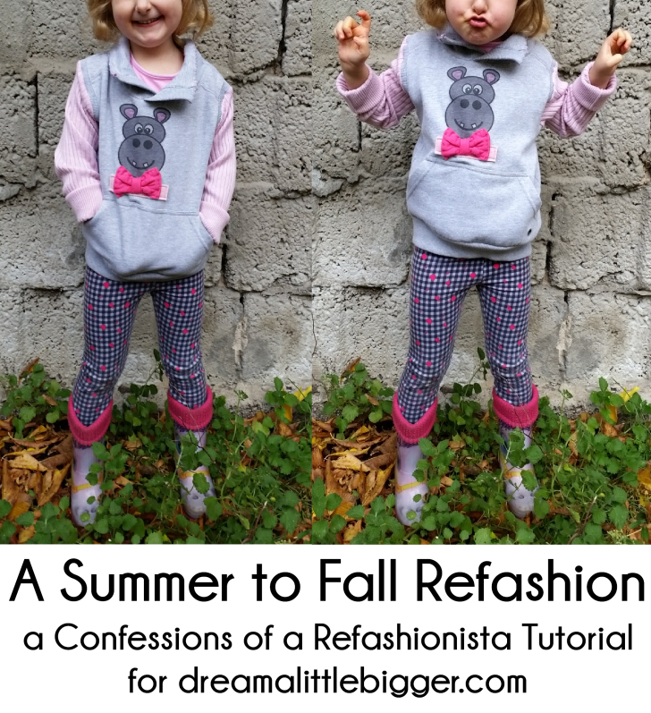 A Summer to Fall Refashion