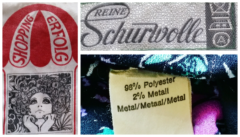 Vintage clothingtags