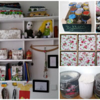 Thrifty refashionista stash storage