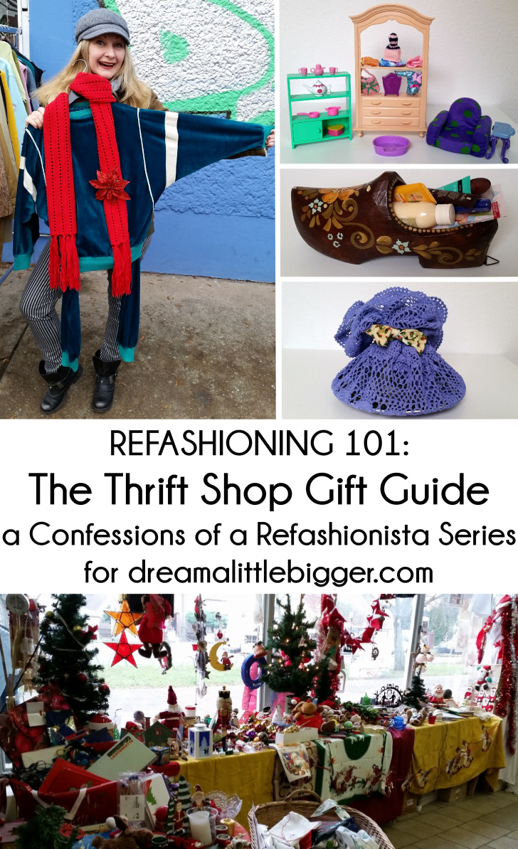 Refashioning 101: The Thrift Shop Gift Guide