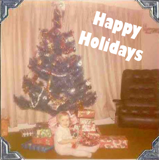 Happy Holidays from Confessions of a Refashionista!