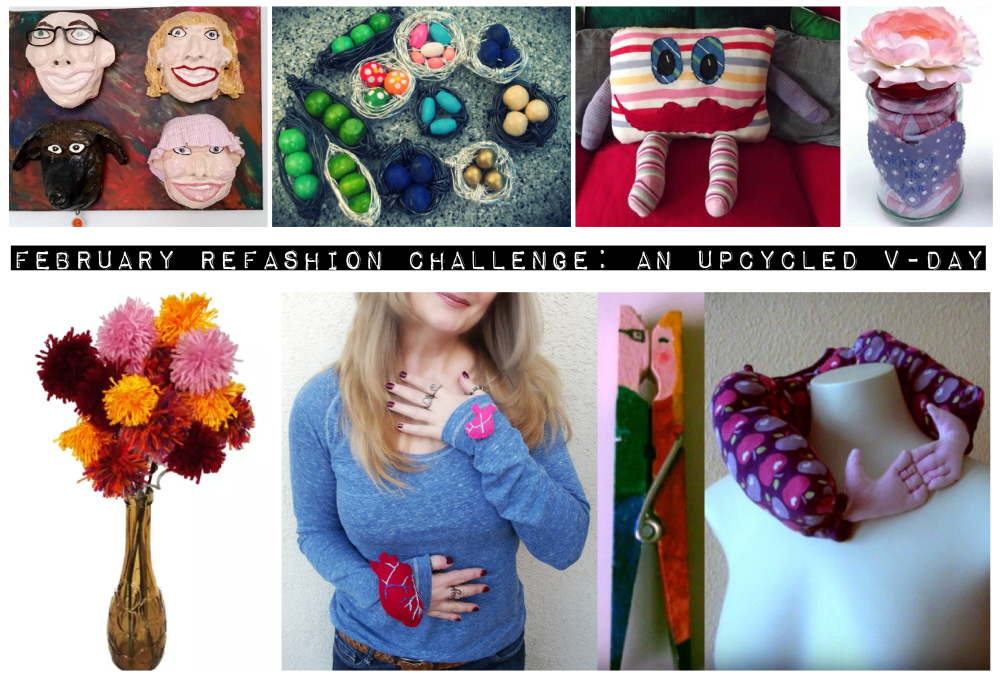 February Refashion Challenge: An Upcycled V-Day