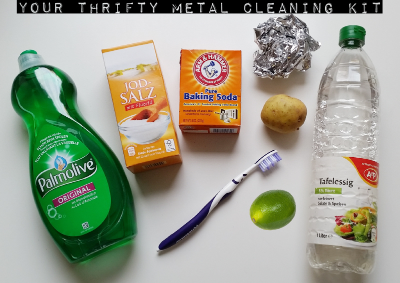 Thrifty Metal Cleaning Kit