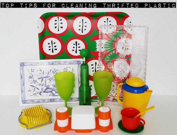 My Top Tips for Cleaning Thrifted Plastic
