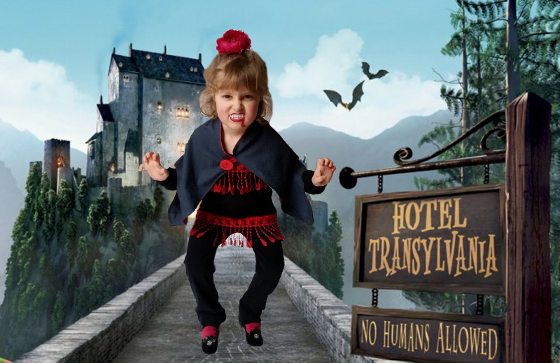 The Refashioned Baby Vampire Costume