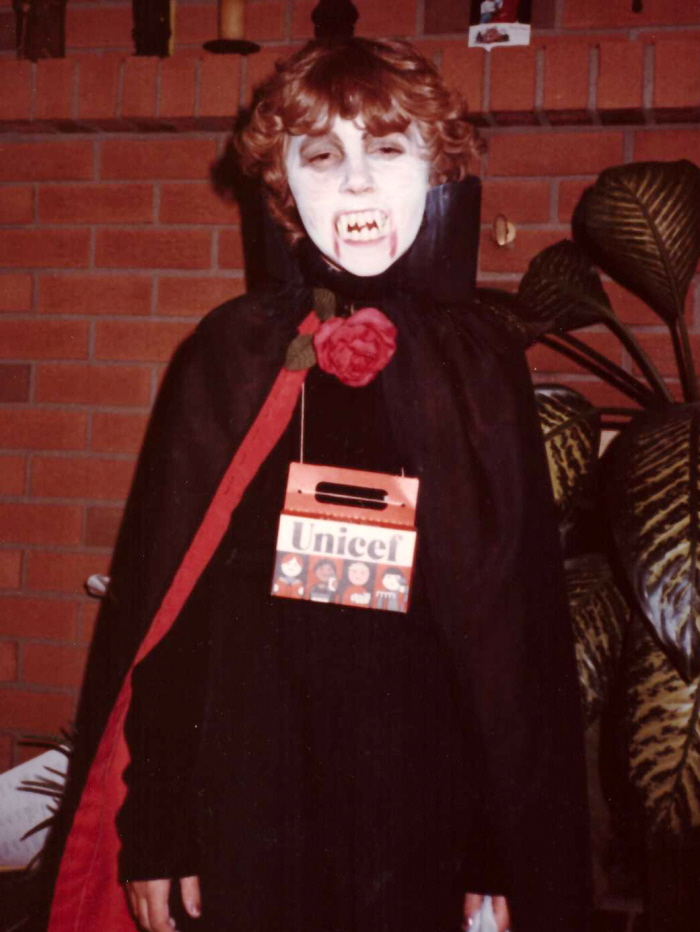 the refashioned baby vampire costume 1980s inspiration