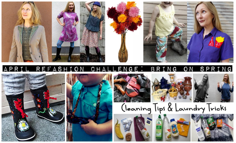 April Refashion Challenge: Bring on Spring