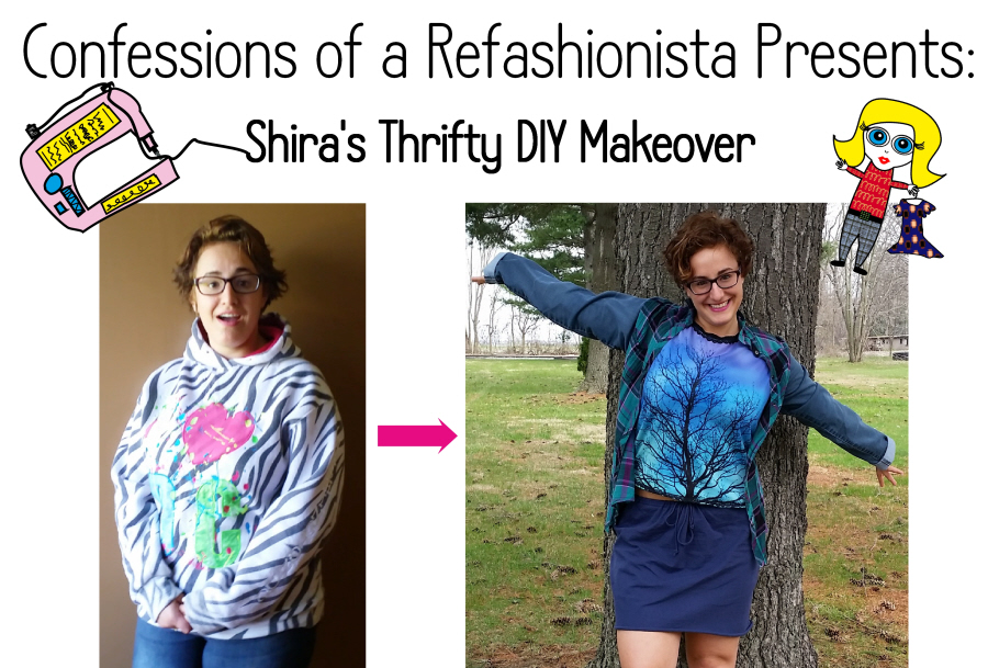 Shira's Thrifty DIY Refashionista Makeover