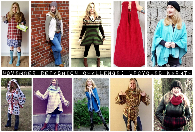 November Refashion Challenge: Upcycled Warmth