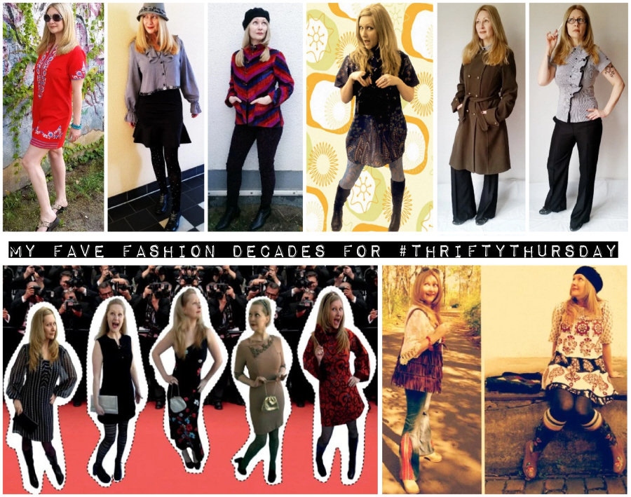 My Fave Fashion Decade S For Thriftythursday Styled By Coar