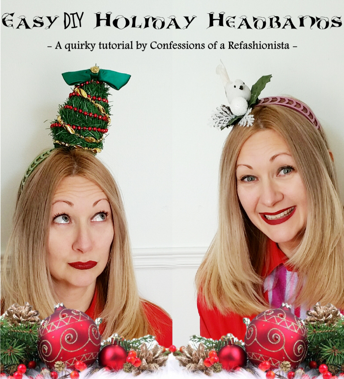 Easy DIY Holiday Headbands