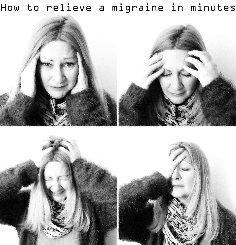 How to relieve a migraine in minutes