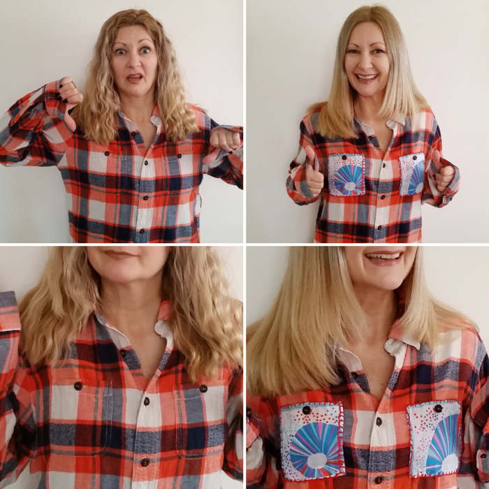 How To Easily Refashion a Flannel Shirt