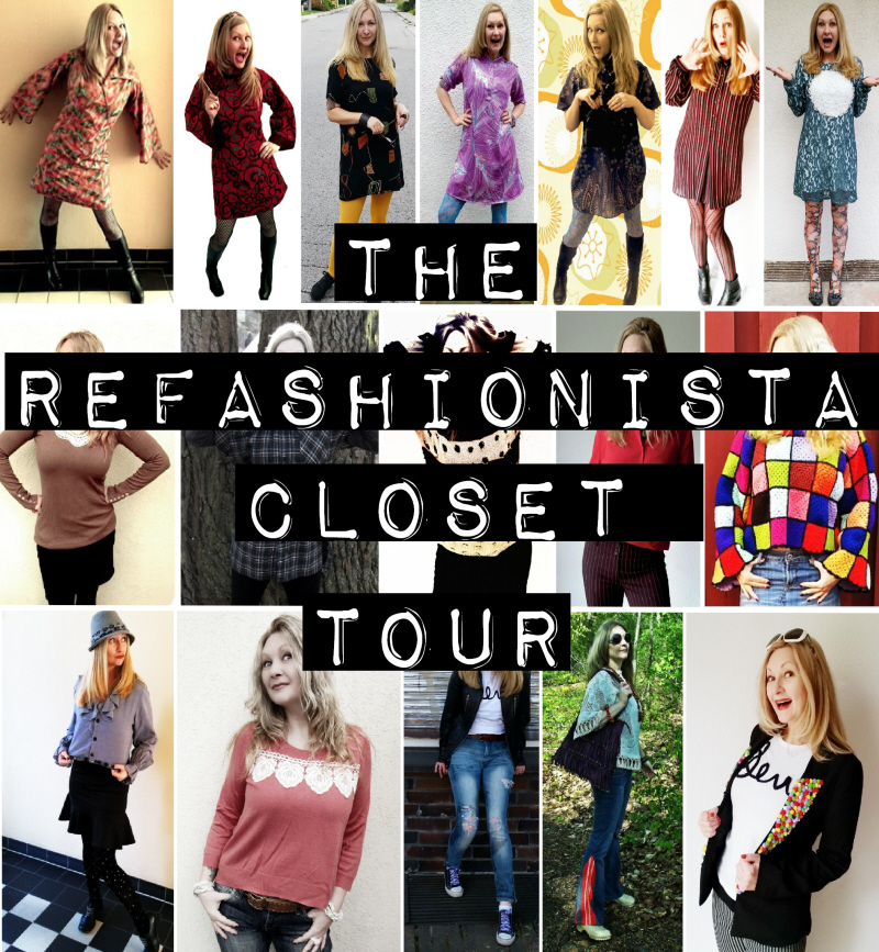A Refashionista Closet Tour for #ThriftyThursday