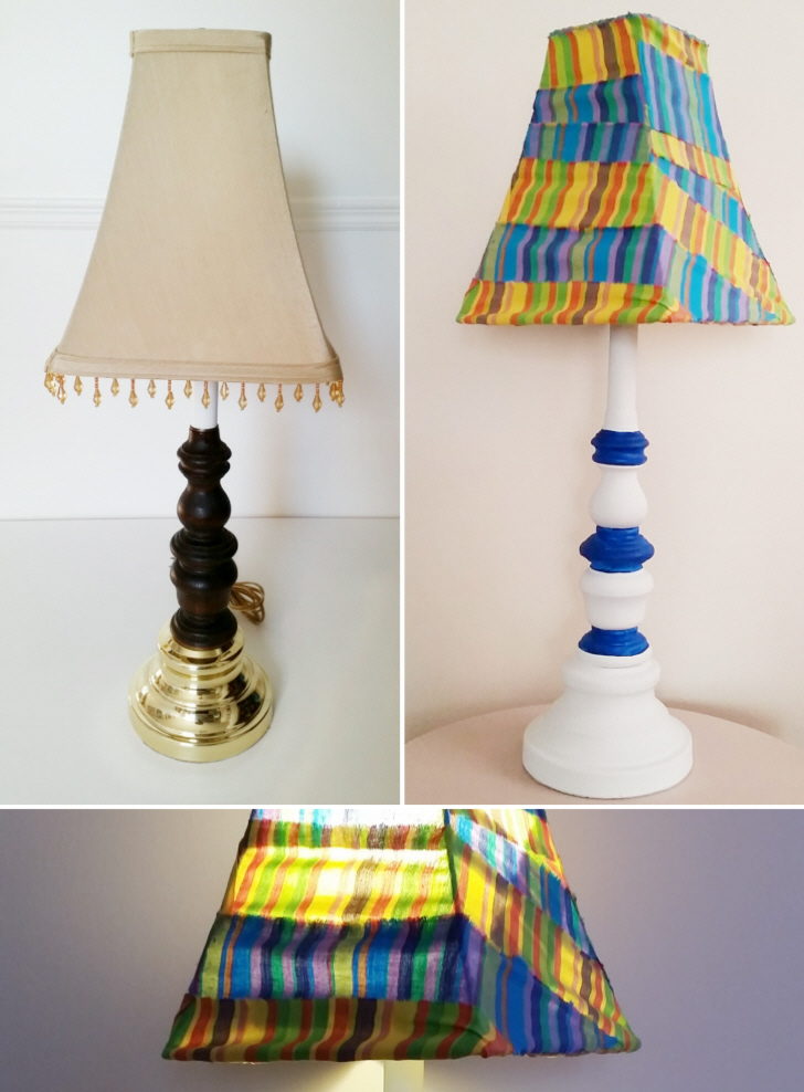 How to Refresh a Thrifted Lamp