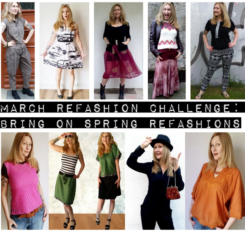 March Refashion Challenge: Bring on Spring Refashions