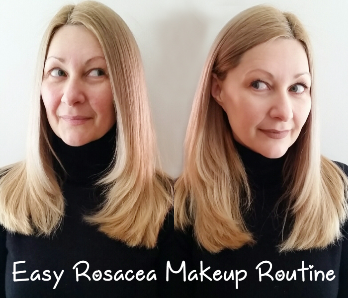 Rosacea MakeUp Tutorial with It Cosmetics, Nudestix, elf & So Eco