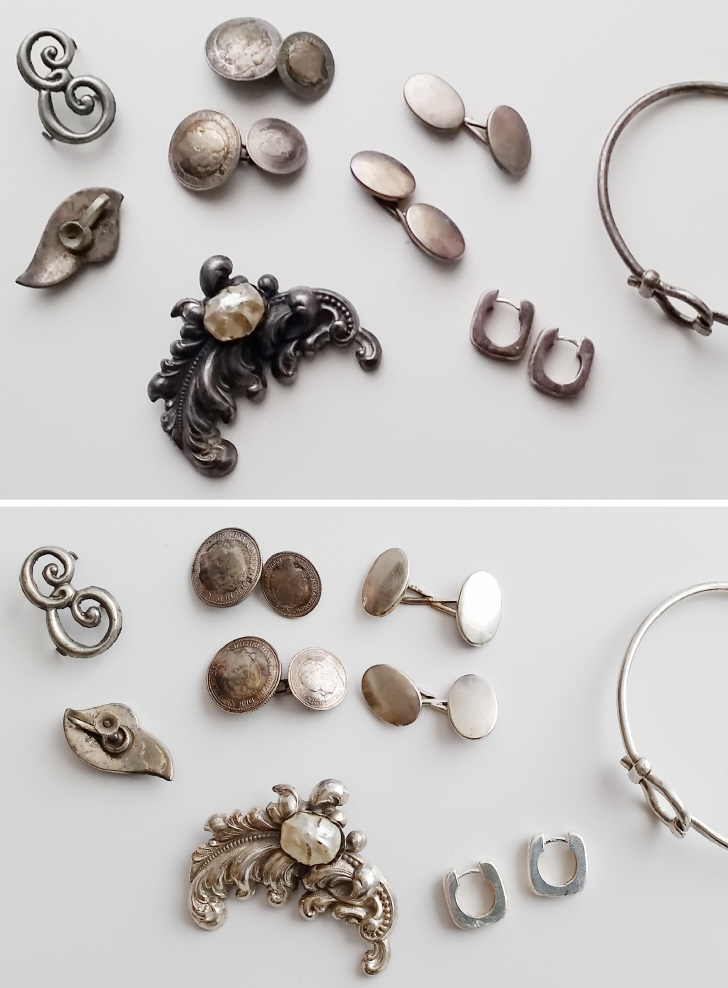 Refashioning 101: How to easily clean silver