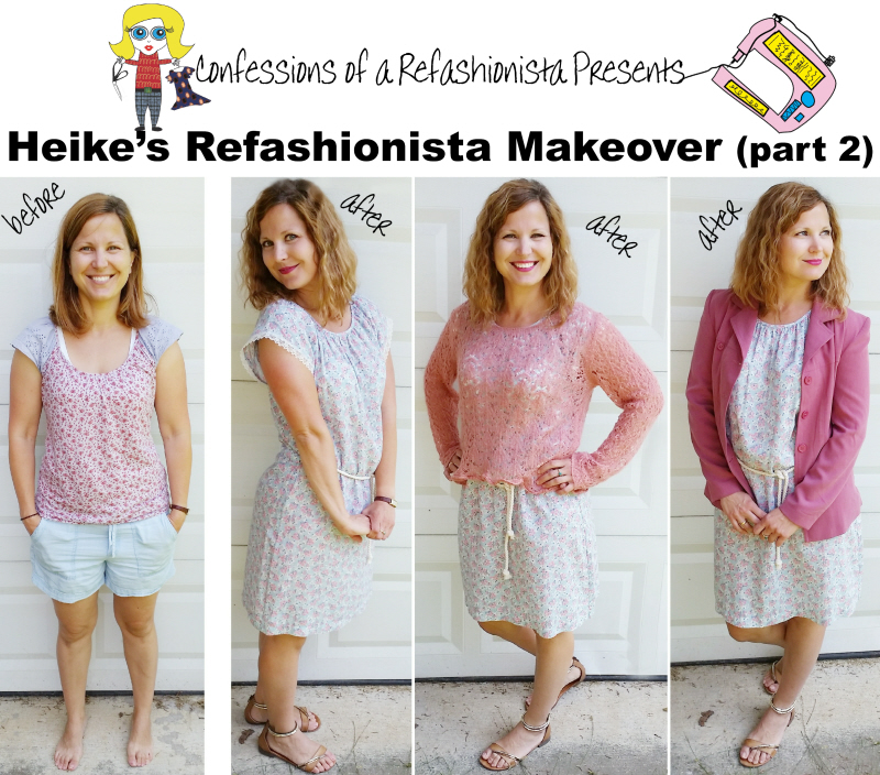 Heike's Refashionista Makeover (part 2) + all the fab Tutorials!