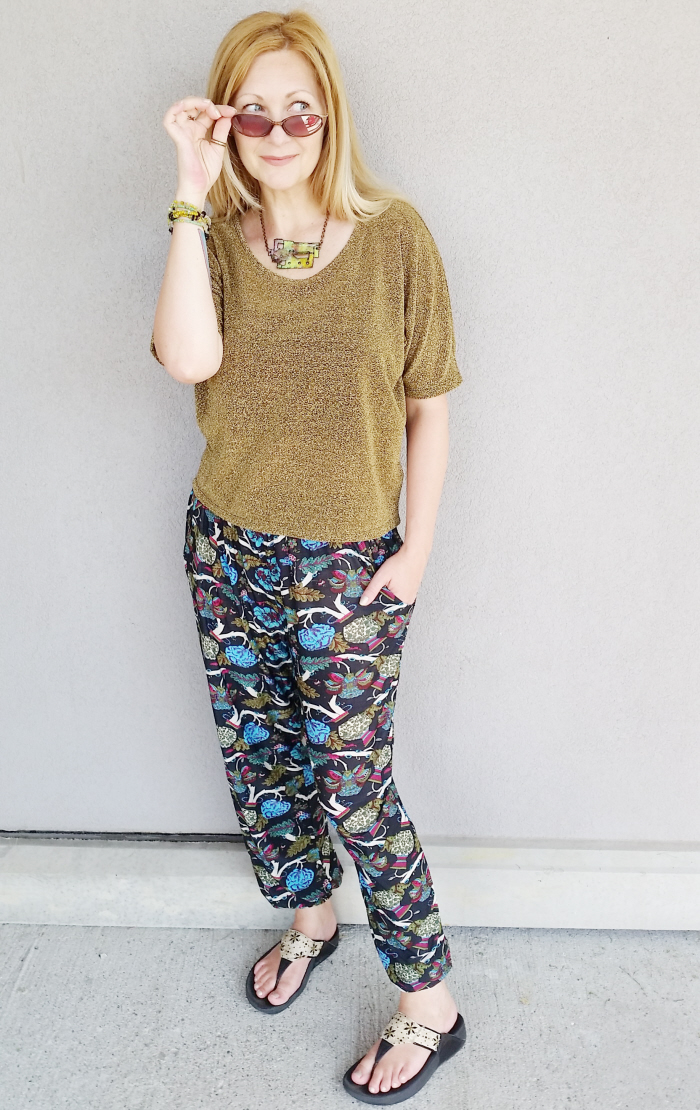 Lovely Lounge Pants on #ThriftyThursday