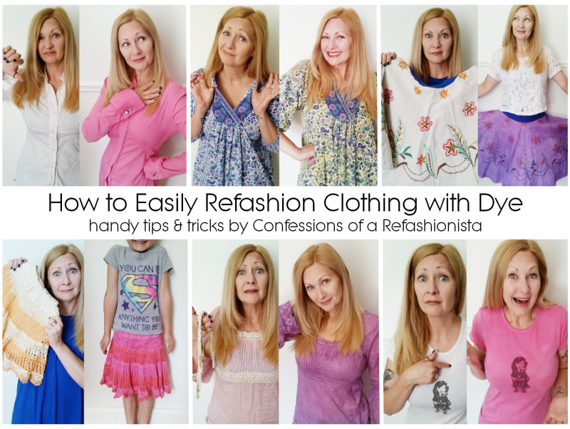 How to Easily Refashion Clothing with Dye