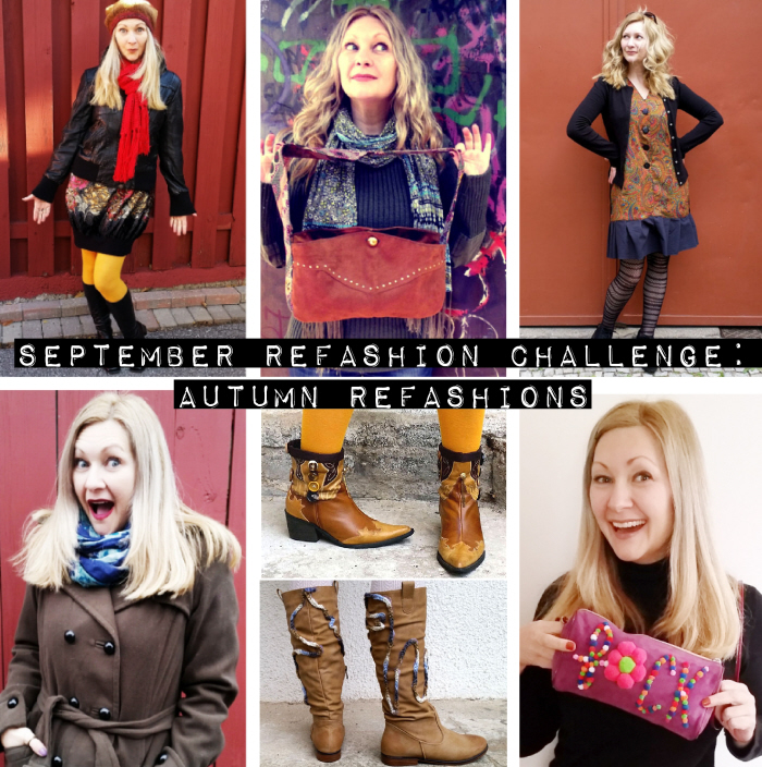 September Refashion Challenge: Autumn Refashions