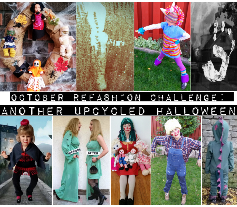 October Refashion Challenge: Another Upcycled Halloween