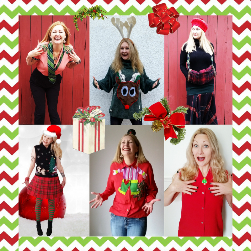 #Refashioned Holiday Wear for #ThriftyThursday