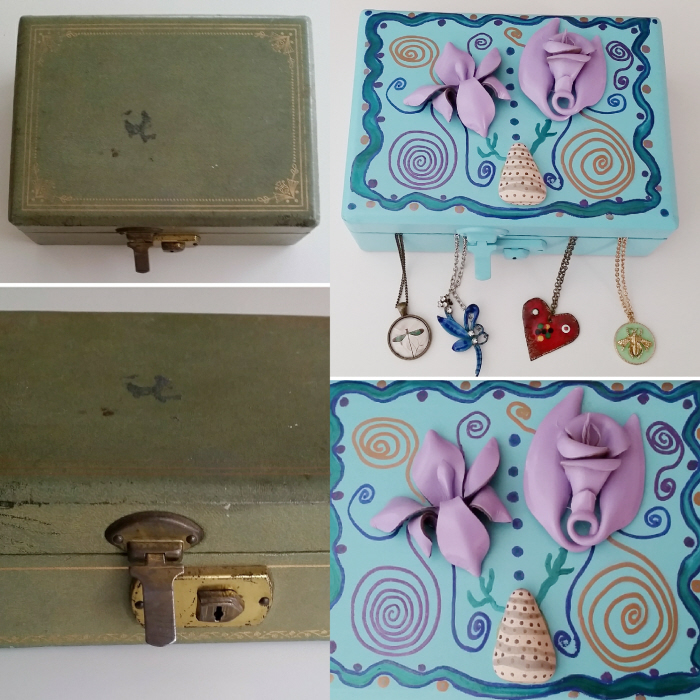 Rescued & Refashioned Jewellery Box DIY