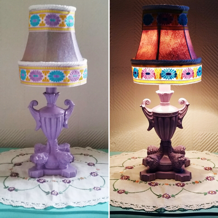 How to easily update a vintage lamp
